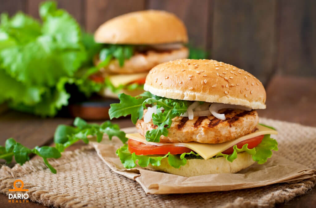 Protein-Packed Chicken Burgers