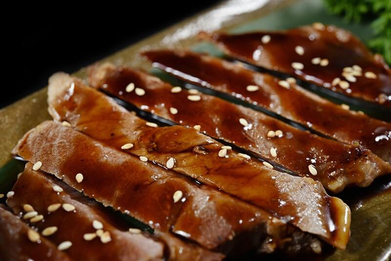 Beef Teriyaki with Zucchini